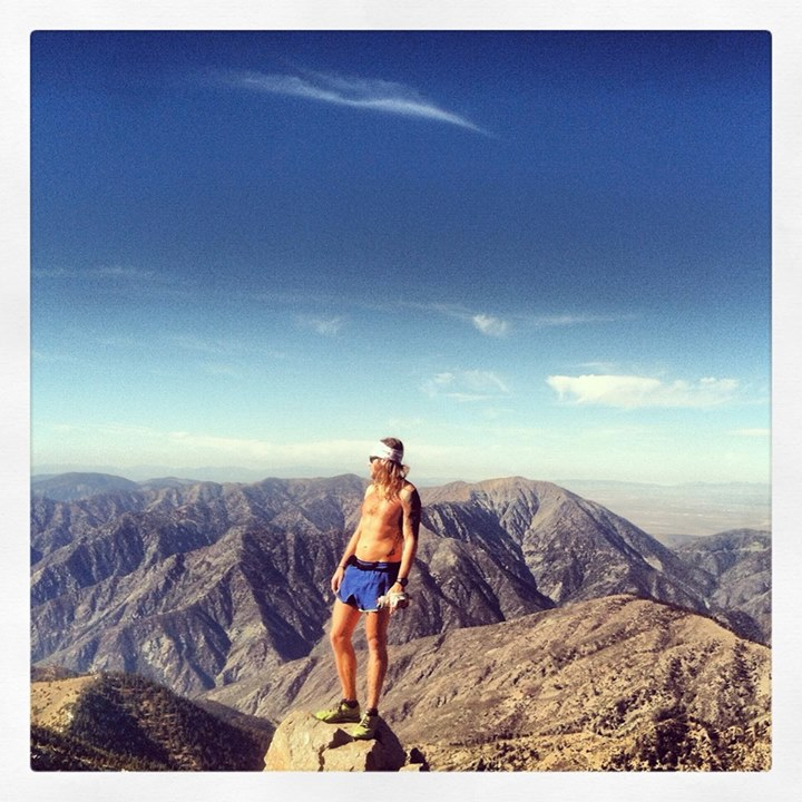 Timothy Olson at Mt Baldy.