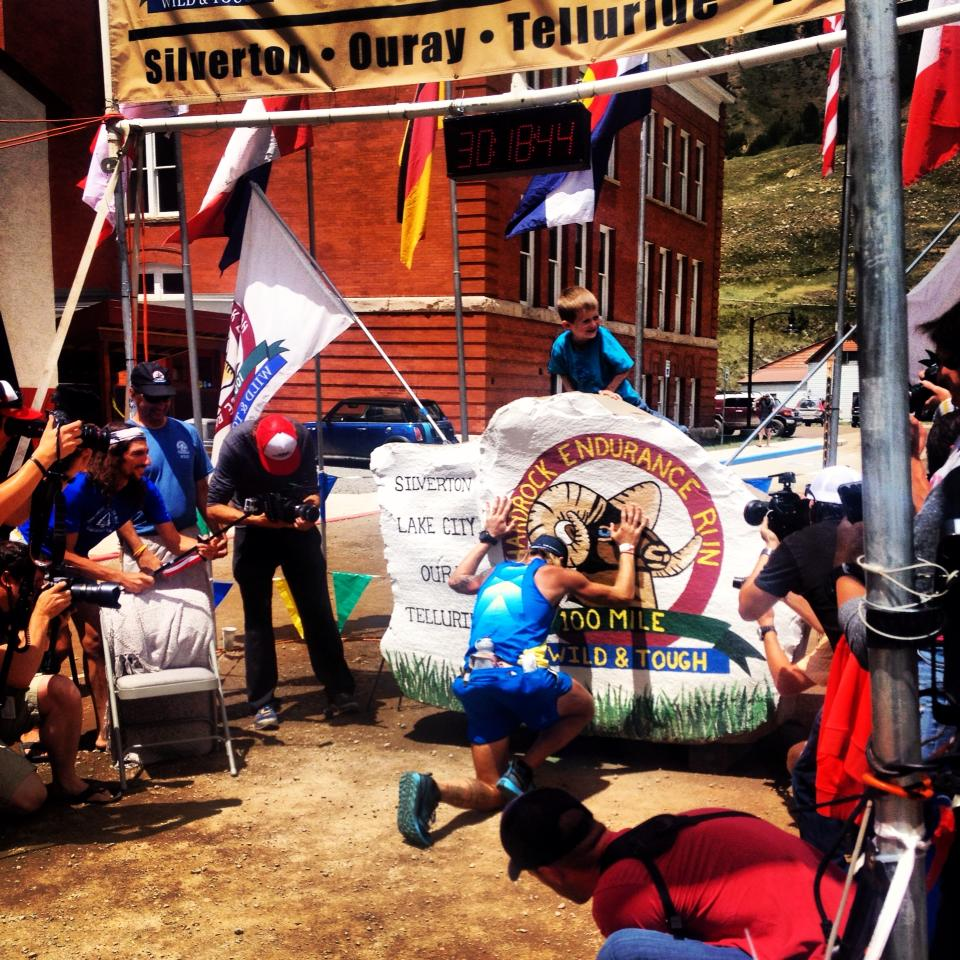 Hardrock 100 Finish