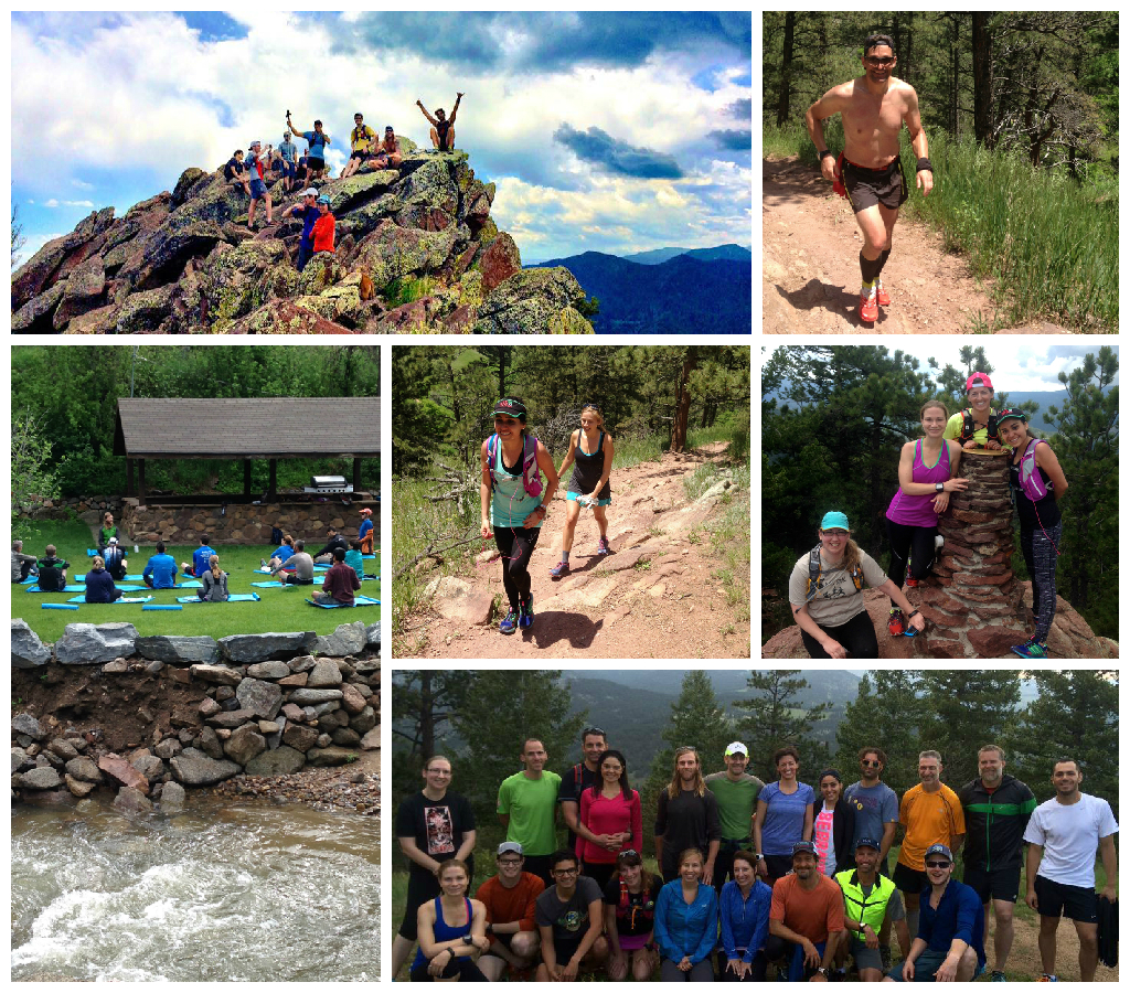 Run Mindful Retreat - June Collage